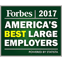 Forbes' list of America's Best Employers